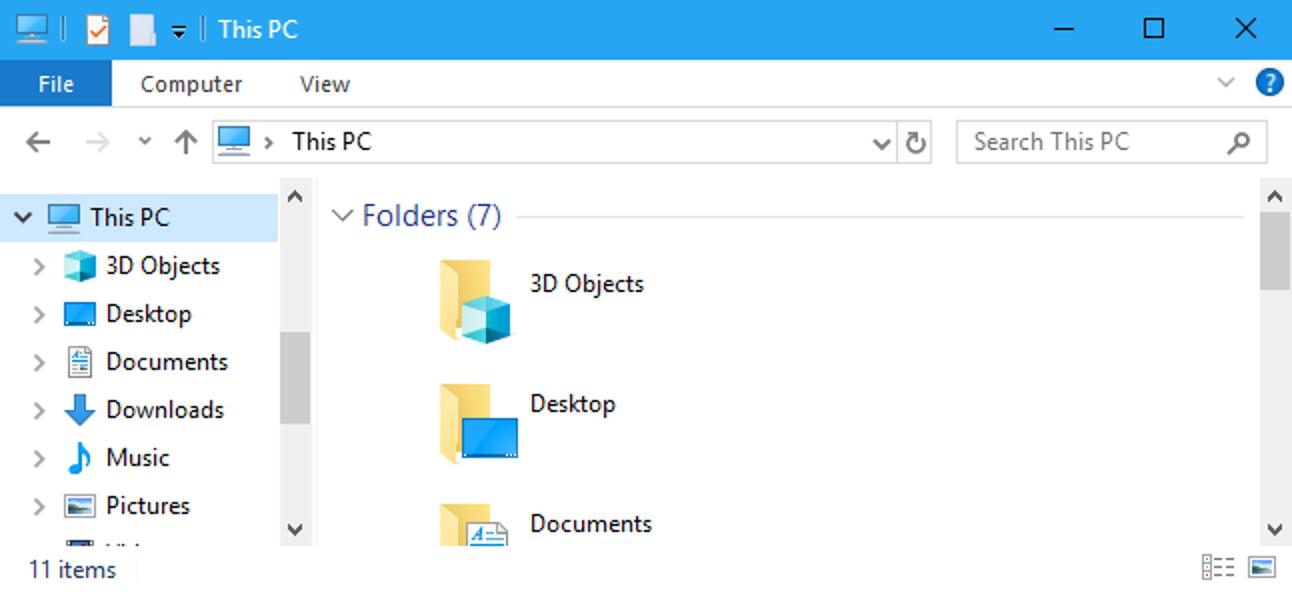 """So entfernen Sie """"3D-Objekte"""" von diesem PC unter Windows 10"""