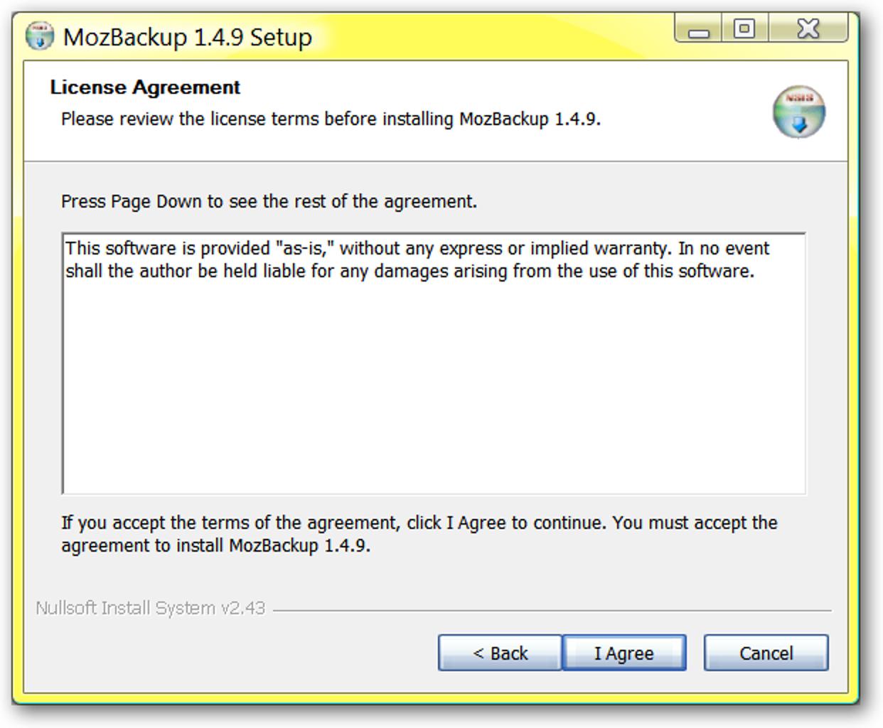 Sichern Sie Ihre Mozilla-basierte Software mit MozBackup