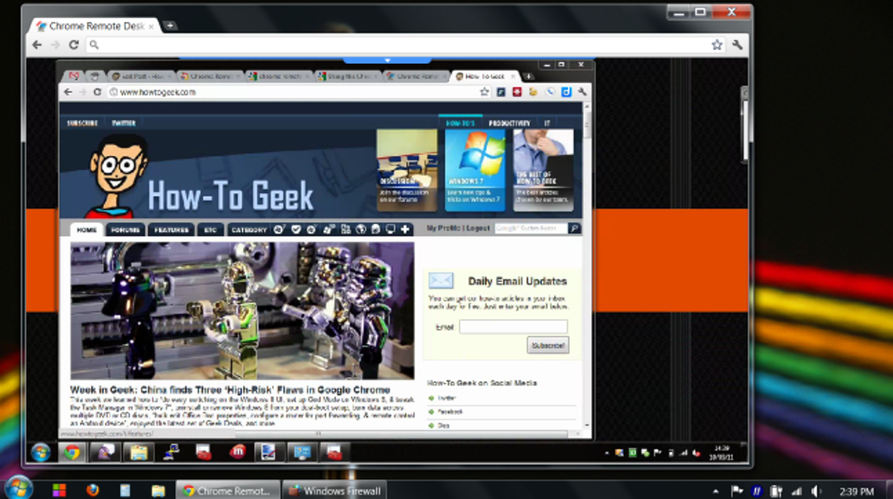 So steuern Sie einen Remotecomputer nur mit Ihrem Chrome-Webbrowser