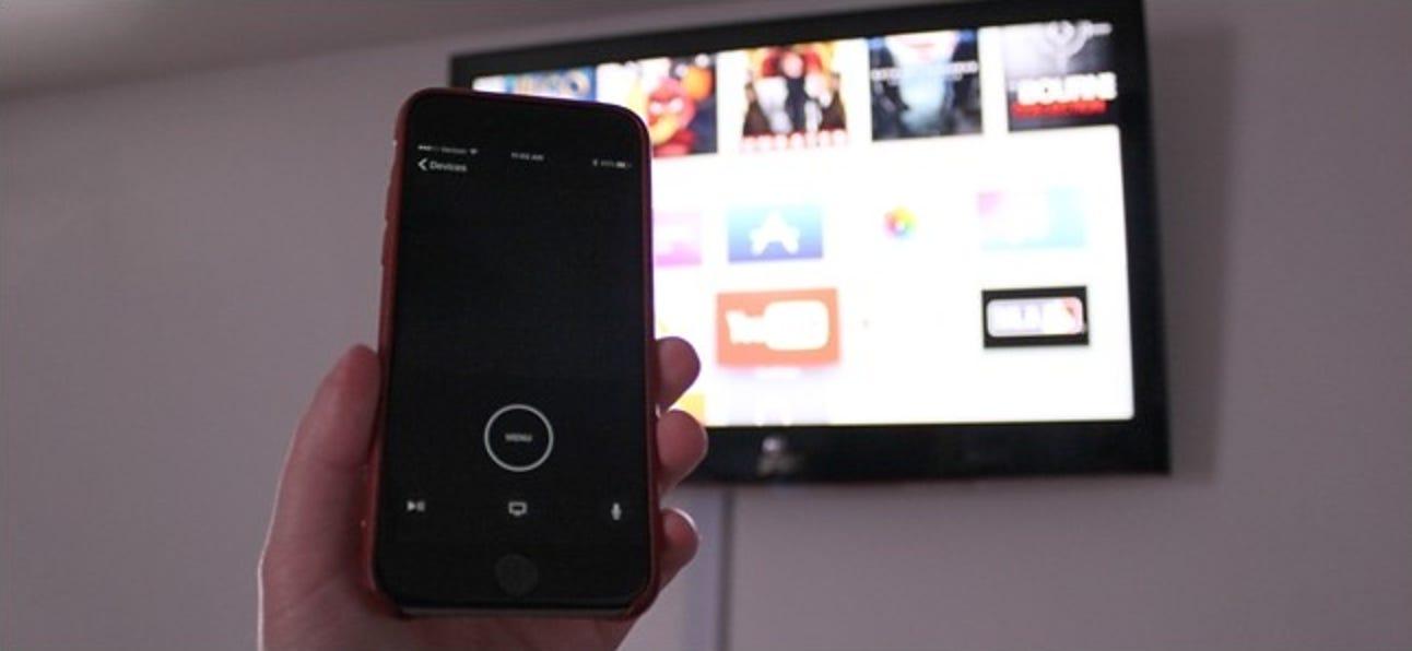 So verwenden Sie Ihr iPhone oder iPad als Apple TV-Fernbedienung