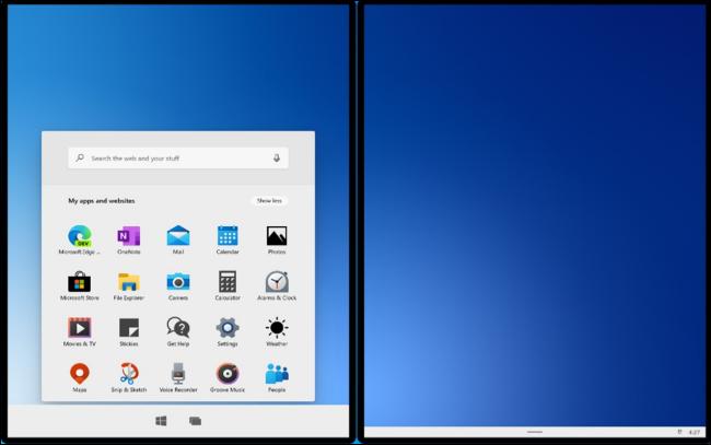 Windows 10X im neuen Emulator von Microsoft