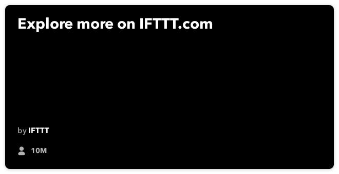 IFTTT-Rezept: Wenn die Innentemperatur unter einen bestimmten Punkt fällt, senden Sie eine SMS-Warnung, um den Nest-Thermostat mit der SMS zu verbinden