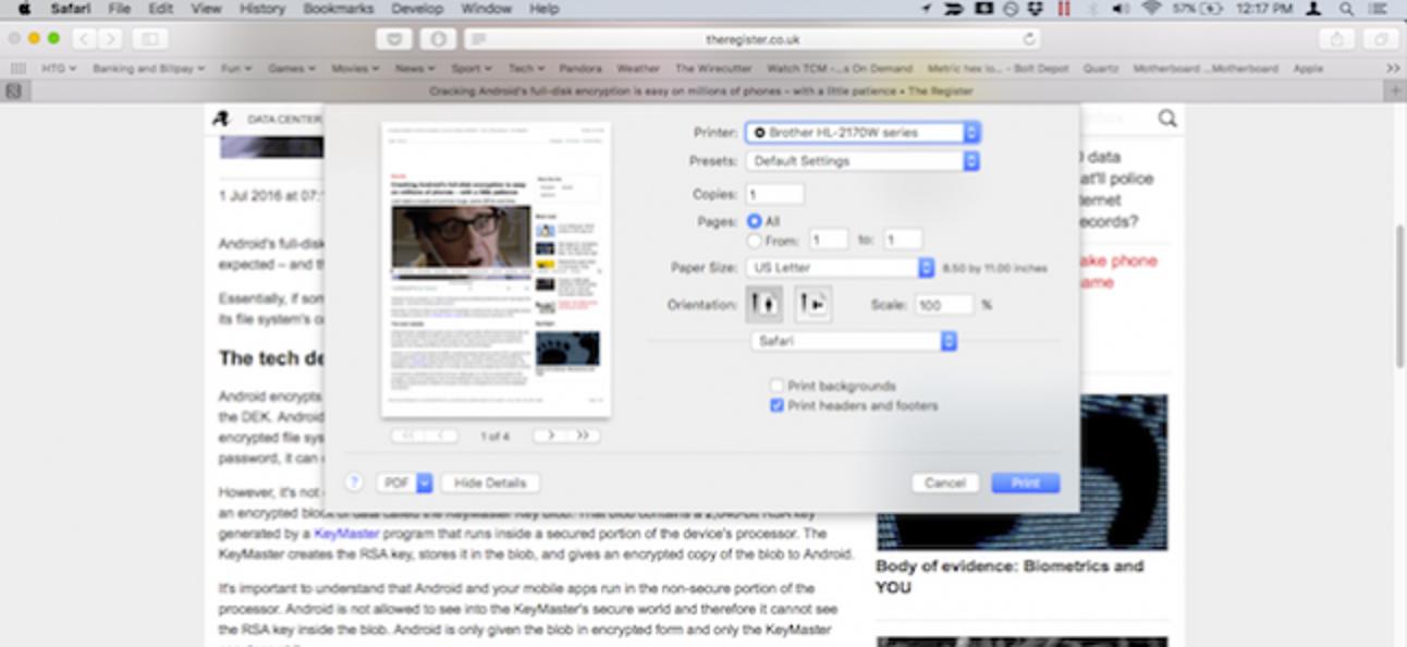 So zeigen Sie die erweiterten Druck- und Speicherdialoge standardmäßig in OS X an