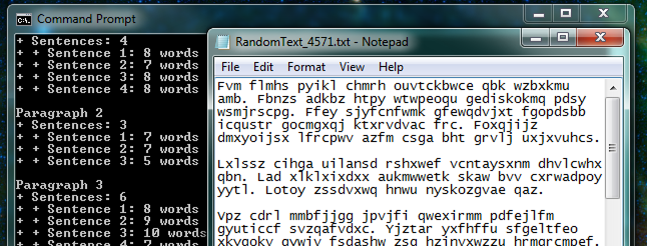 So generieren Sie Absätze von vollständig zufälligem / Gibberish-Text