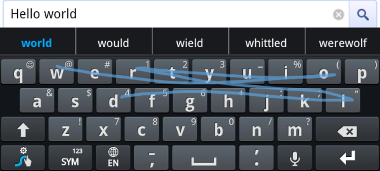 Schnelleres Tippen mit der Swype-Tastatur für Android