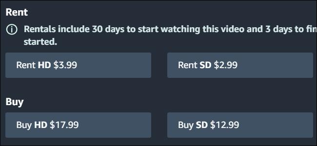 Amazon berechnet unterschiedliche Preise für die HD- und SD-Kopien von Toy Story 3