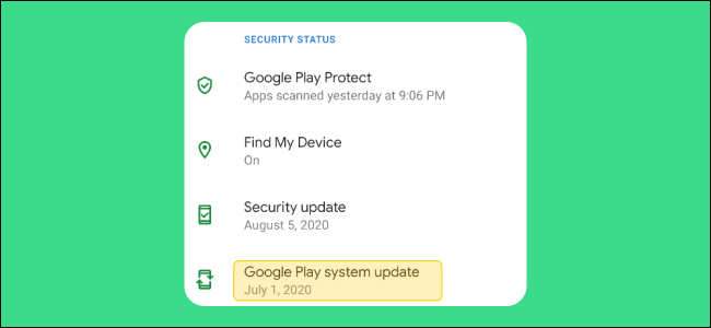 Google Play System Update