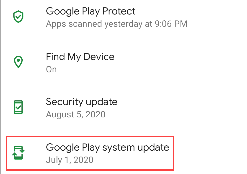 """Zapfhahn """"Google Play System Update."""""""