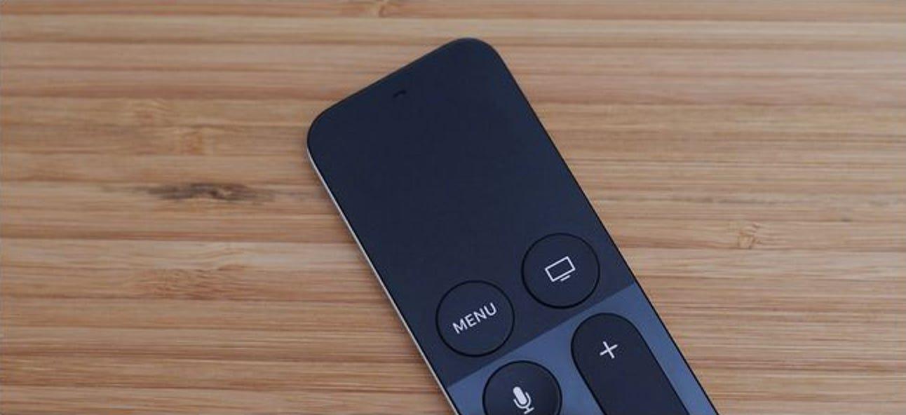 So stellen Sie die Berührungsempfindlichkeit auf der Fernbedienung des neuen Apple TV ein