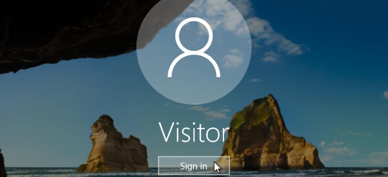 So erstellen Sie ein Gastkonto in Windows 10
