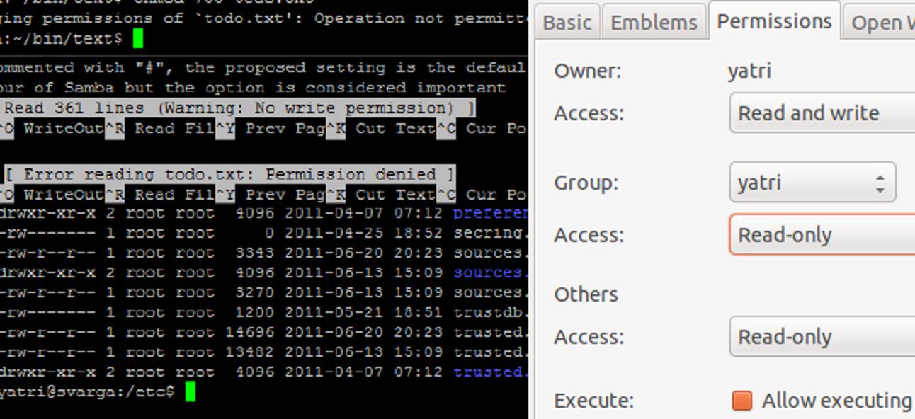 Wie funktionieren Linux-Dateiberechtigungen?