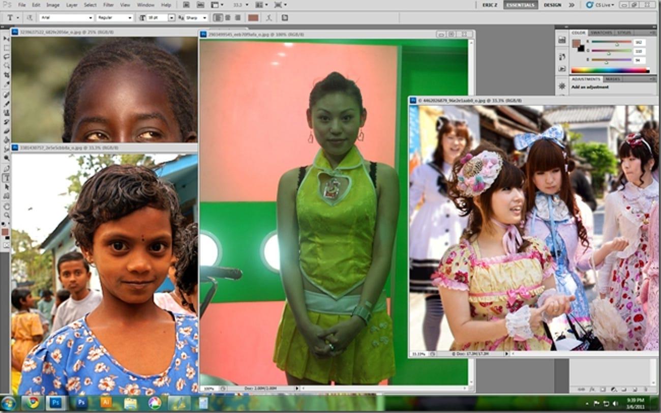 So erhalten Sie erstaunliche Farben aus Fotos in Photoshop, GIMP und Paint.NET