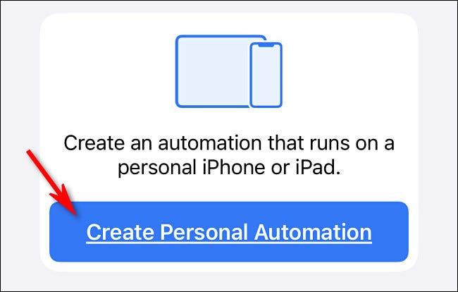 """Zapfhahn """"Erstellen Sie eine persönliche Automatisierung."""""""