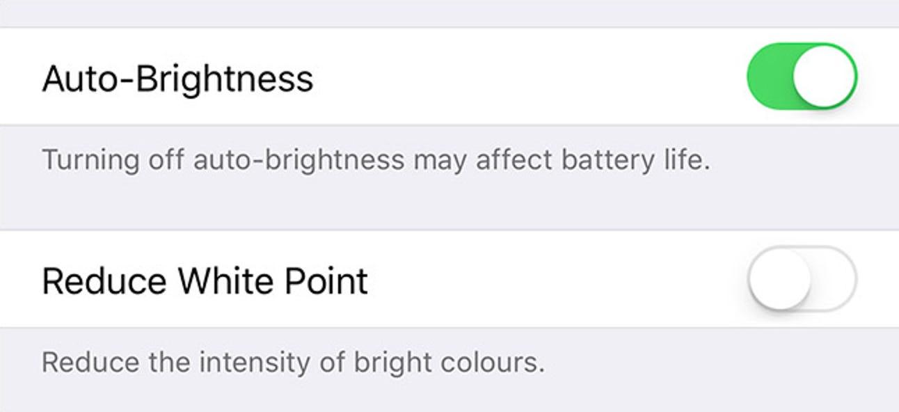 So deaktivieren Sie die automatische Helligkeit auf Ihrem iPhone