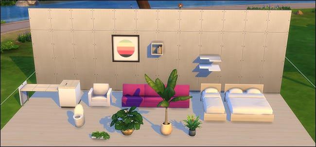 Die Platzierung von benutzerdefinierten Inhalten für Sims 4