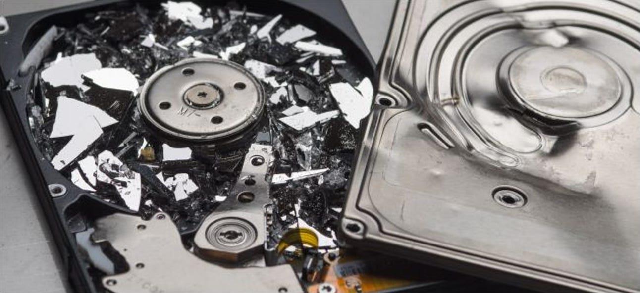 Was tun, wenn Ihre Festplatte ausfällt?