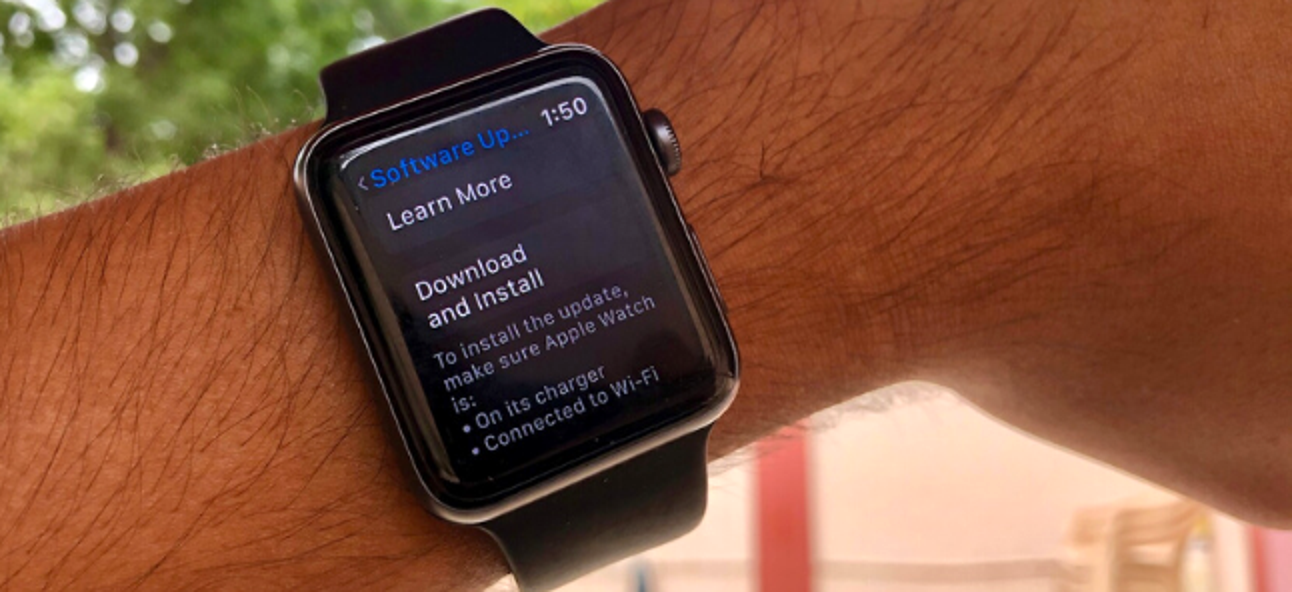 So aktualisieren Sie Ihre Apple Watch
