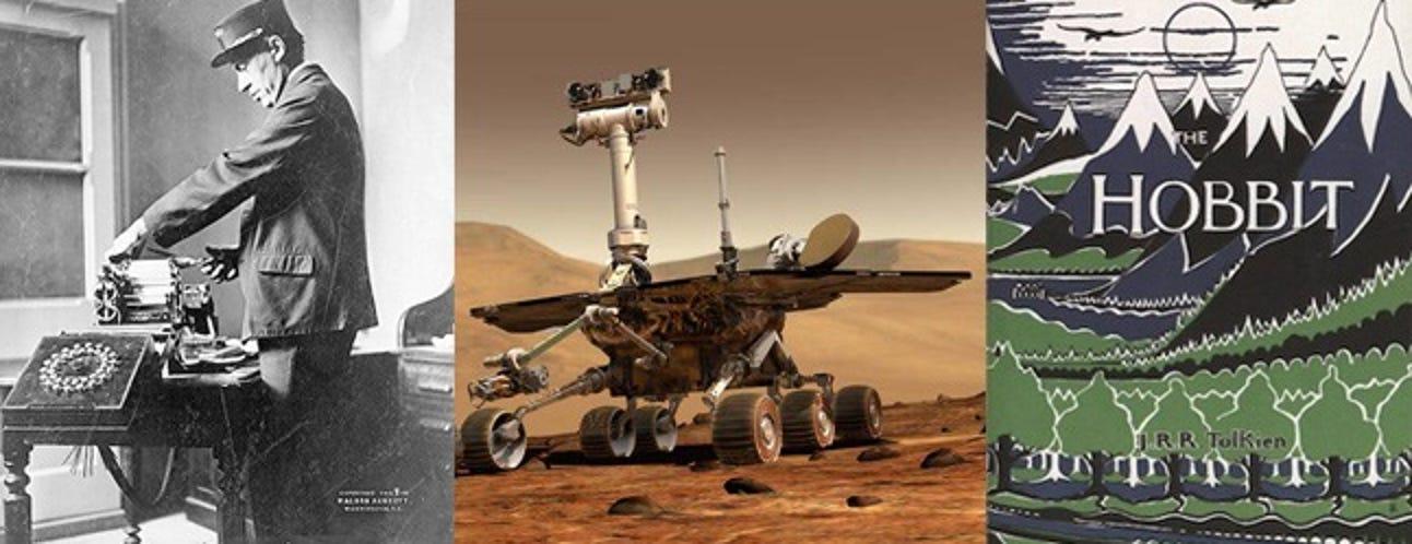 Morsecode, Mars Rovers, JRR Tolkiens Geburtstag