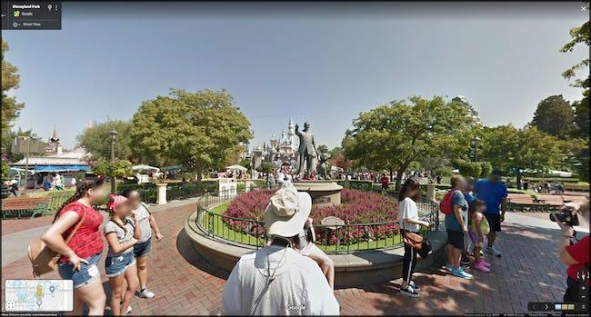 Virtuelle Tour durch Disney World auf Google Maps