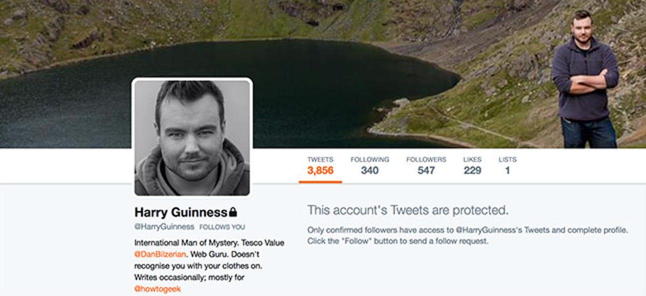 So machen Sie Ihr Twitter-Konto privat
