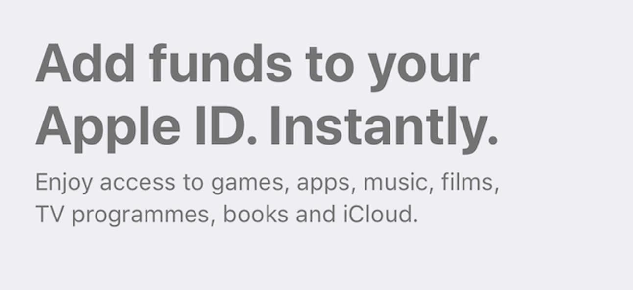 So fügen Sie einer Apple ID auf einem iPhone oder iPad Geld hinzu