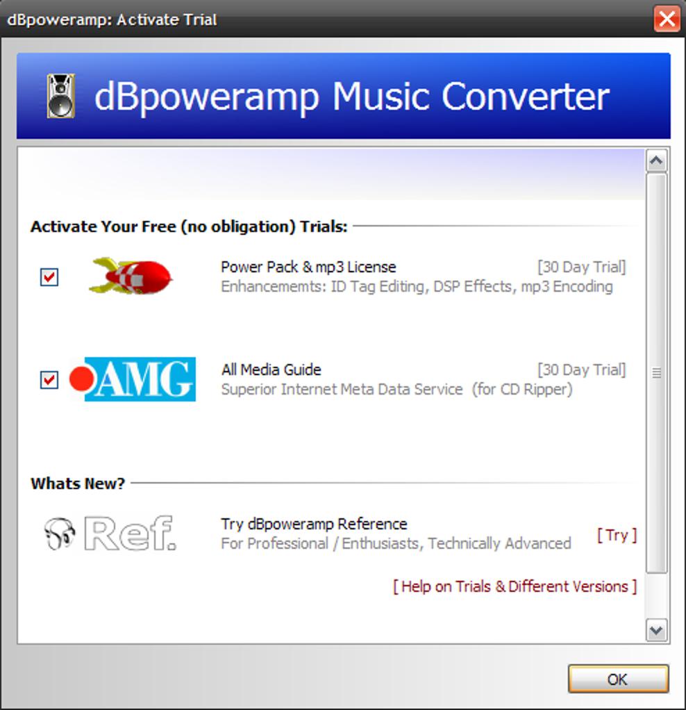 Verwenden Sie dBpoweramp, um Audiodateien zu konvertieren