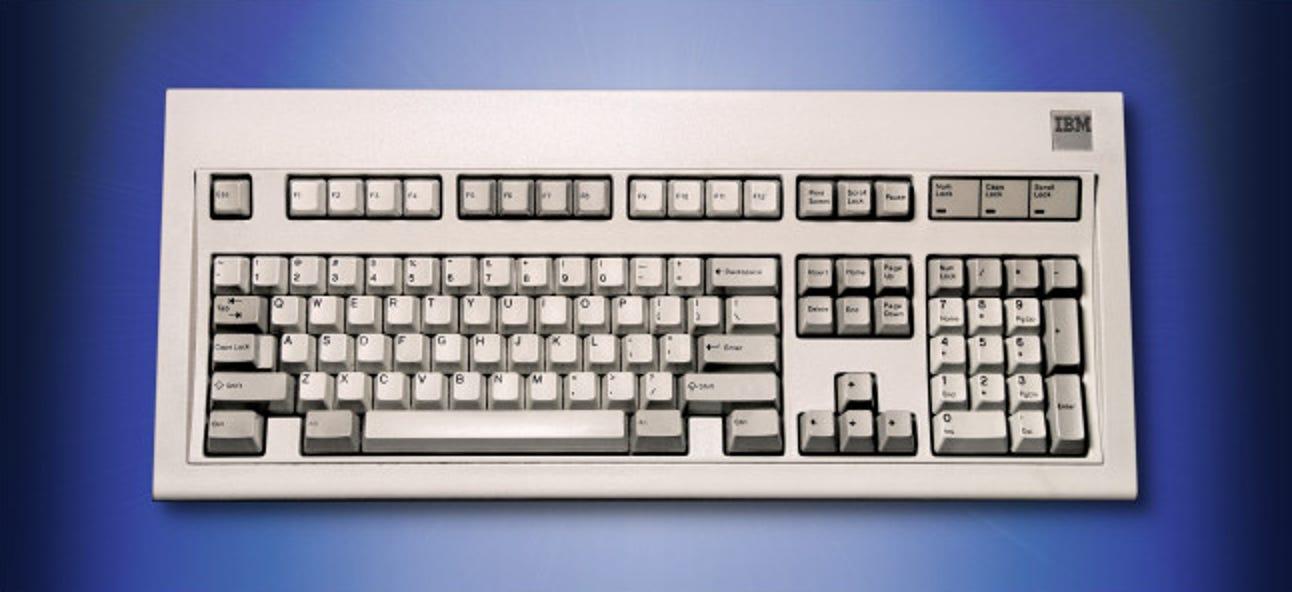 Warum ich immer noch eine 34 Jahre alte IBM Model M-Tastatur verwende