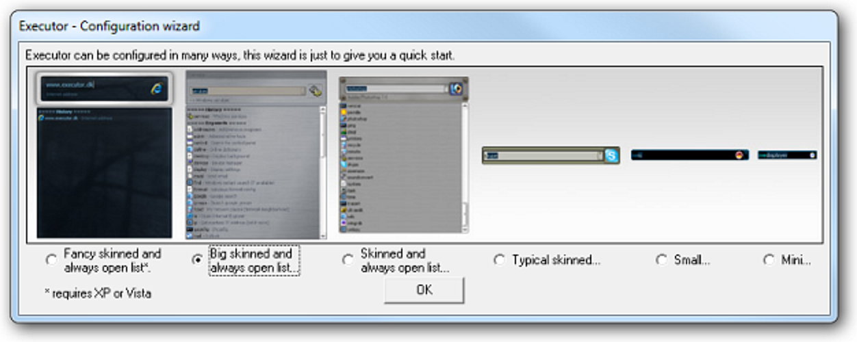 Starten Sie Windows Apps schneller mit Executor