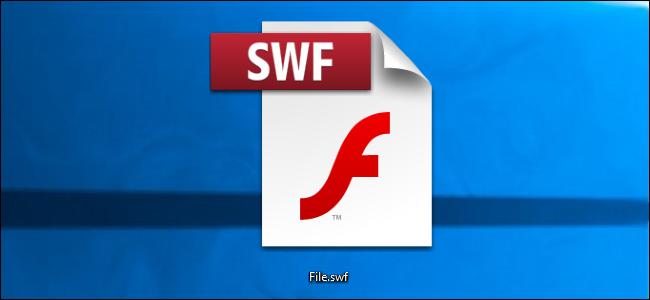 SWF-Datei auf dem Windows-Desktop