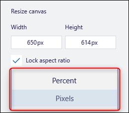 Pixel-Dropdown-Menü