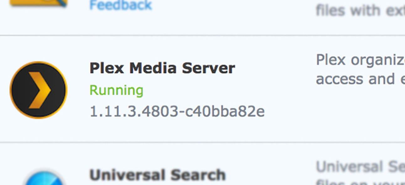 So aktualisieren Sie Plex auf Ihrem Synology NAS