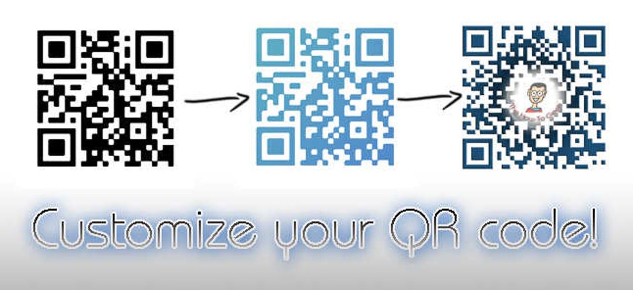So passen Sie Ihre QR-Codes mit Bildern an und dekorieren sie