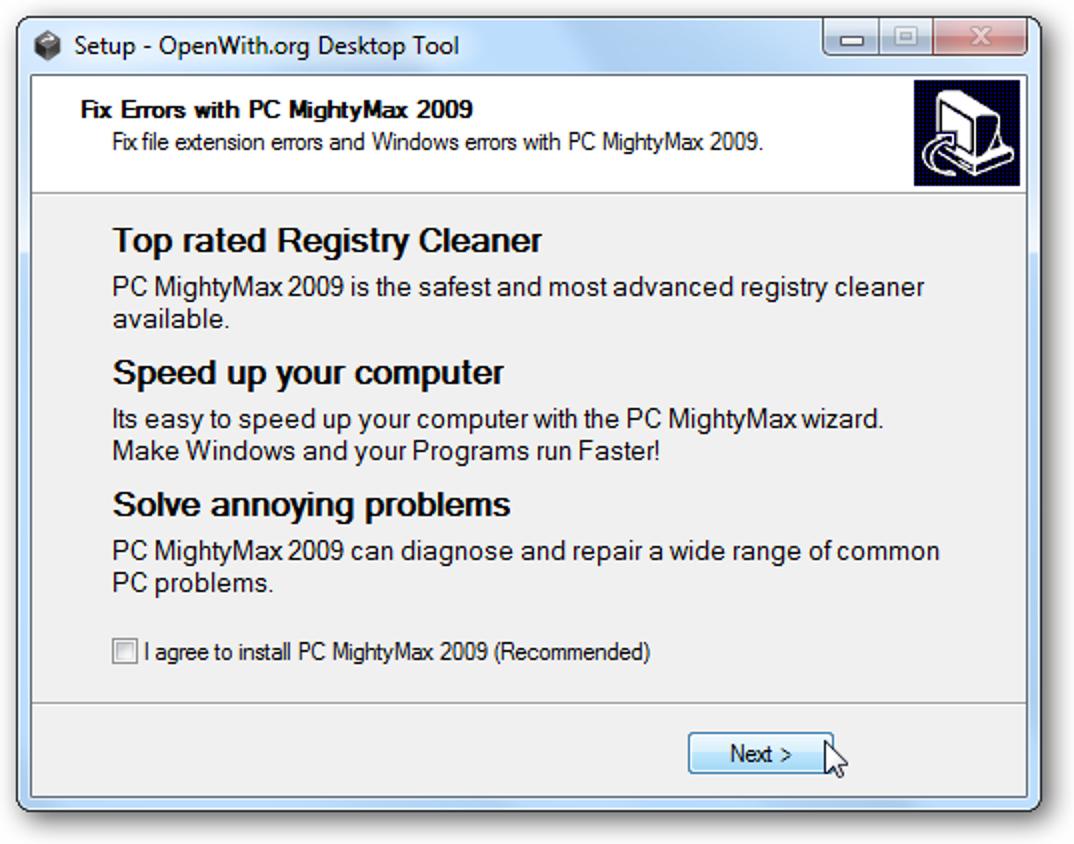 Öffnen Sie obskure Dateitypen mit dem OpenWith.org Desktop Tool