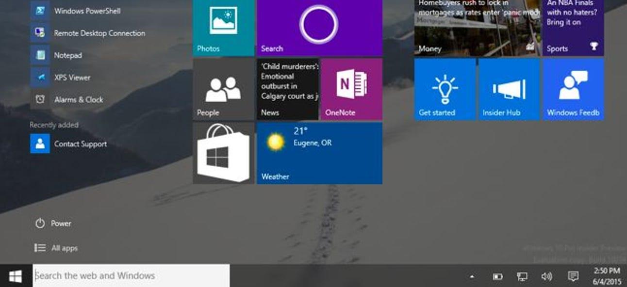 Folgendes unterscheidet Windows 10 für Windows 8-Benutzer