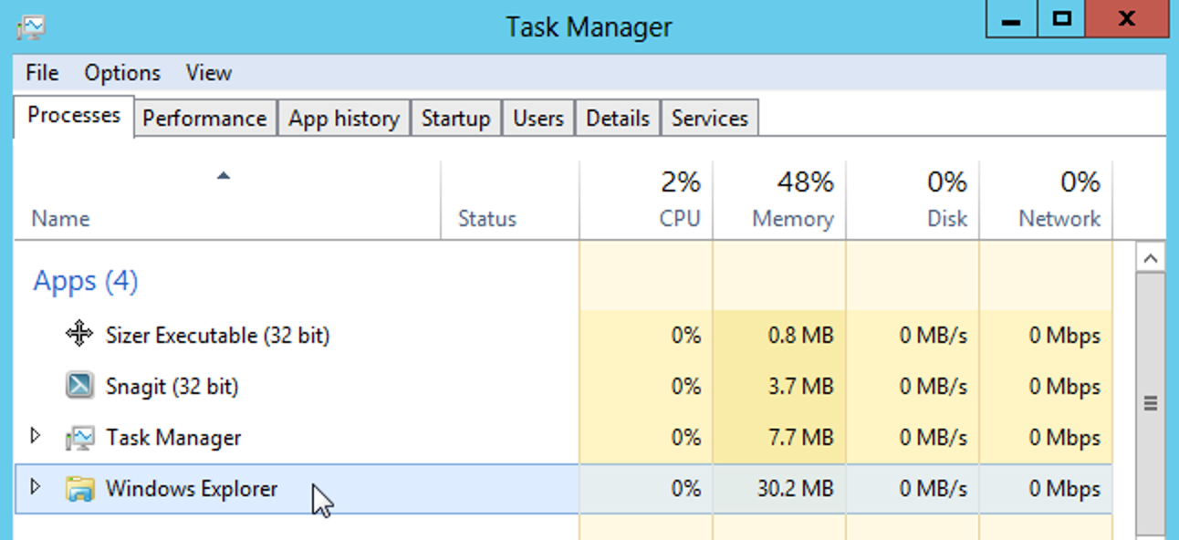 Befestigen Sie den Task-Manager in Windows 8 an der Taskleiste und dem Metro-Startbildschirm