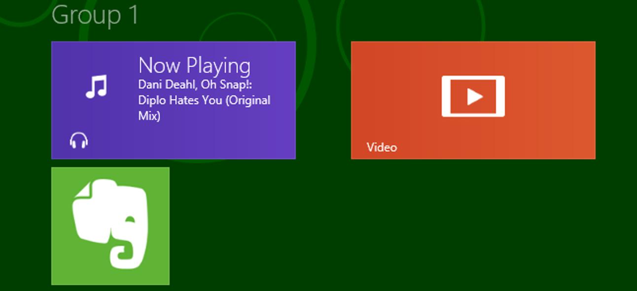 So benennen Sie Gruppen von Apps auf dem Windows 8 Metro-Startbildschirm