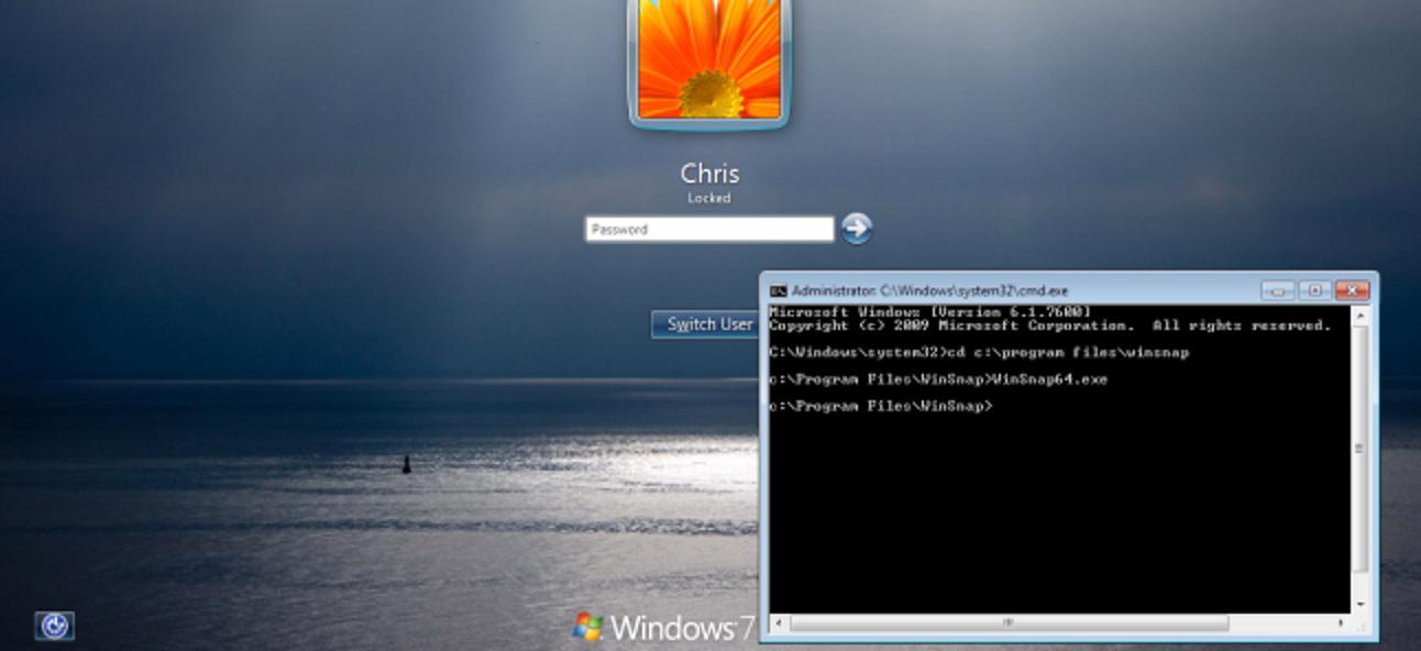 So machen Sie Screenshots des Windows-Anmeldebildschirms: 2 Geeky Tricks