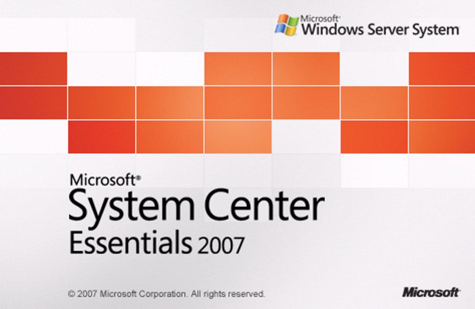 Windows System Center Essentials 2007
