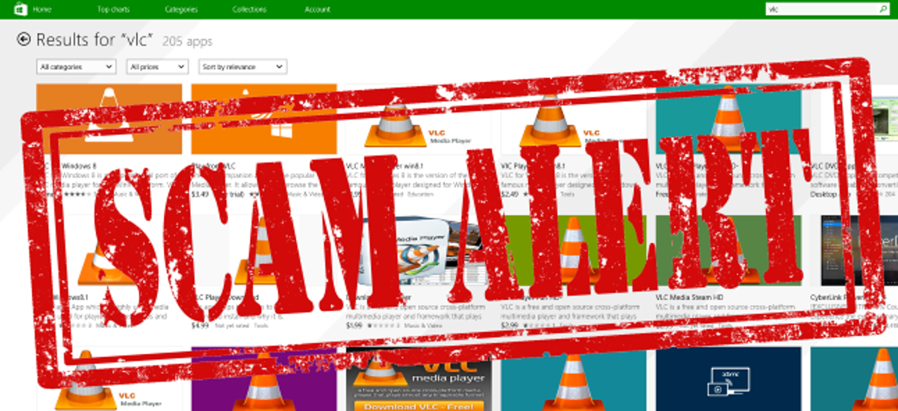 Der Windows Store ist eine Sackgasse von Betrug - Warum kümmert sich Microsoft nicht darum?