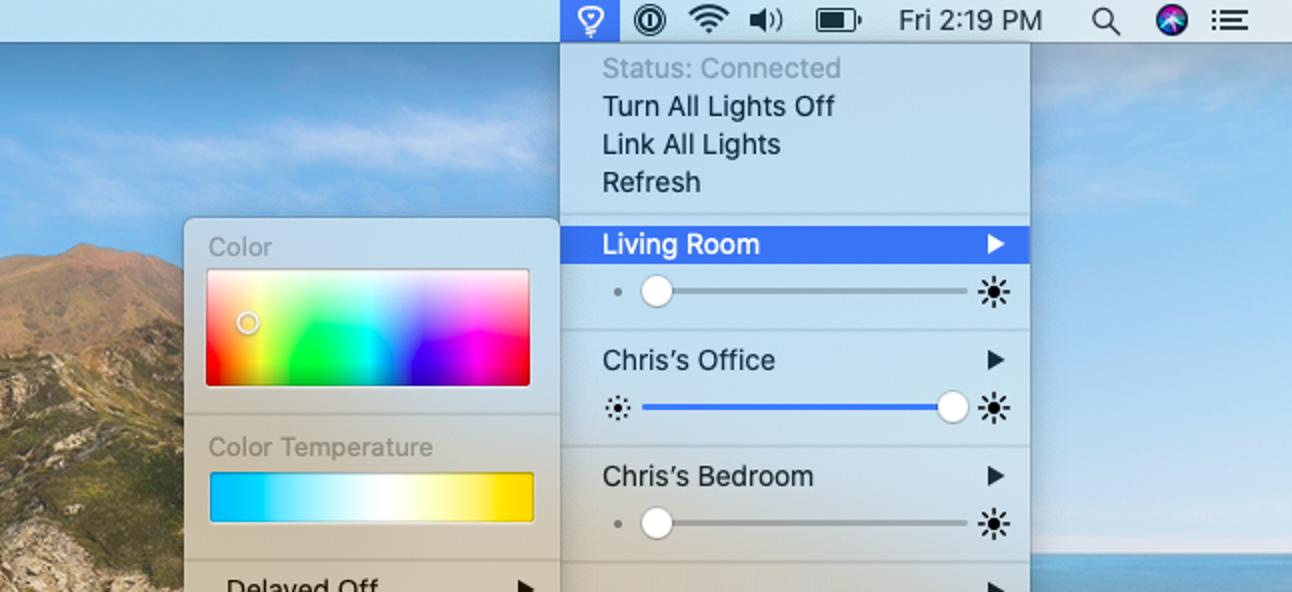 So steuern Sie Philips Hue Lights von Ihrem Mac aus