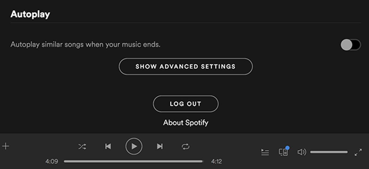 So verhindern Sie, dass Spotify Musik automatisch wiedergibt, nachdem Sie eine Wiedergabeliste oder ein Album fertiggestellt haben