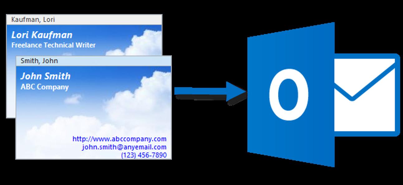 So importieren Sie mehrere Kontakte aus einer einzelnen vCard-Datei (.vcf) in Outlook 2013
