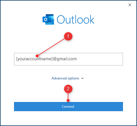 Das Textfeld zur Eingabe Ihrer E-Mail-Adresse.