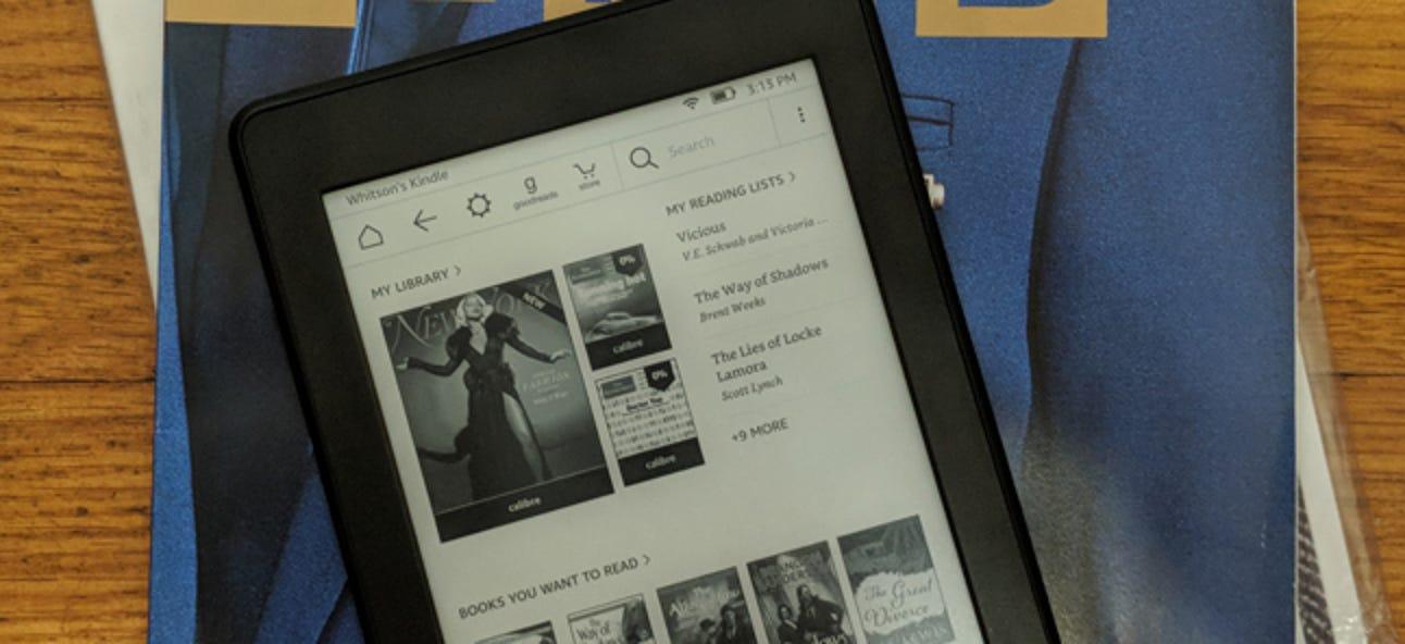 So erhalten Sie mit Calibre kostenlose Zeitschriften auf Ihren Kindle