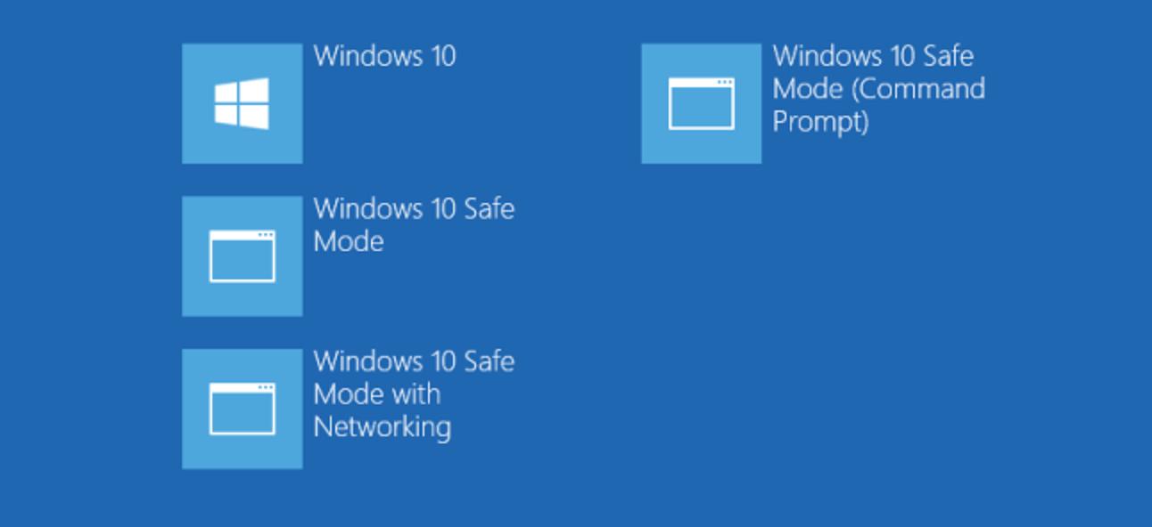 So fügen Sie dem Windows 8- und 10-Startmenü den abgesicherten Modus hinzu