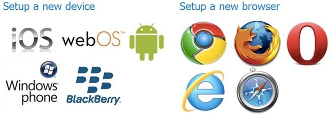 So teilen Sie Links zwischen jedem Browser und jedem Smartphone