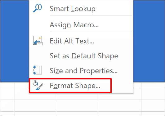 """Klicken """"Form formatieren."""""""