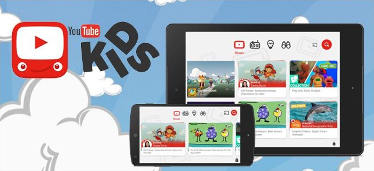So machen Sie YouTube mit der YouTube Kids App kinderfreundlich