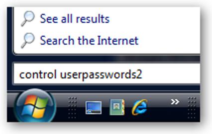 Sichern oder Wiederherstellen gespeicherter Netzwerkbenutzeranmeldeinformationen in Windows Vista