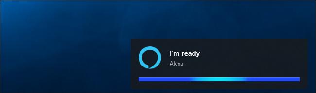 """Alexa sagt """"Ich bin bereit"""" unter Windows 10"""